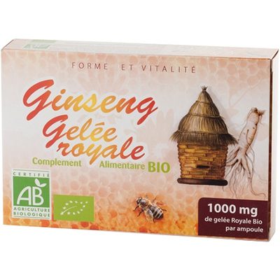 L'HERBOTHICAIRE Ginseng Gelée Royale Bio