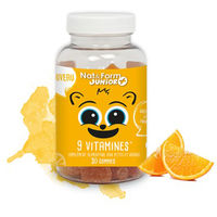 NAT & FORM Junior+ 9 Vitamines - 30 gommes