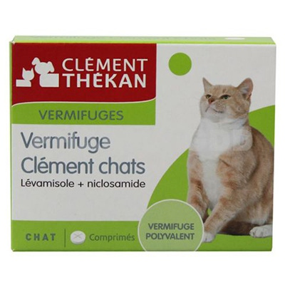 CLEMENT THEKAN Vermifuge Chat