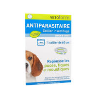 VETOFORM Collier Antiparasitaire Chien & Chiot