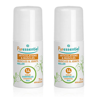 PURESSENTIEL Roller Articulations & Muscles Lot de 2x75ml