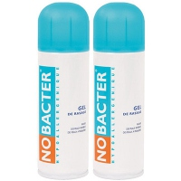 NOBACTER Gel de Rasage - Lot de 2
