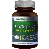 NATURE'S PLUS Ca Mg D3 avec Vitamine K2