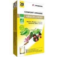 ARKOPHARMA ARKOFLUIDES Confort Urinaire BIO - 20 ampoules