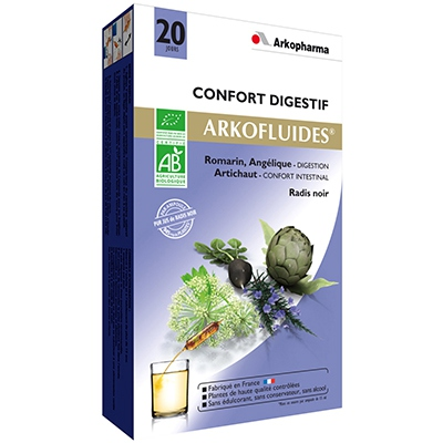 ARKOPHARMA ARKOFLUIDES Digestion BIO - 20 ampoules