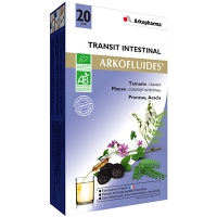 ARKOPHARMA ARKOFLUIDES Transit Intestinal BIO - 20 ampoules