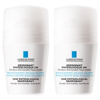 La Roche Posay Déodorant Physiologique 24h Roll-on - Lot de 2