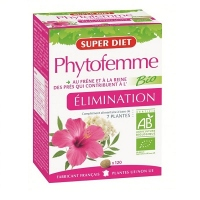SUPER DIET Phytofemme Eliminatin - 120 comprimés