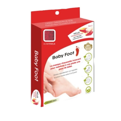 BABY FOOT Masque Chaussette Exfoliant