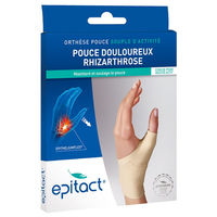 EPITACT Orthèse Proprioceptive Pouce Gauche Taille M