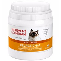 CLEMENT THEKAN Vital Form Pelage Chat - 48 capsules