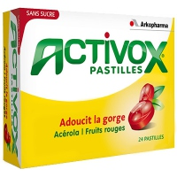 ARKOPHARMA Activox Pastilles Fruits Rouges x24