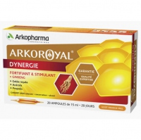 ARKOPHARMA ArkoRoyal Dynergie - 20 ampoules x 15ml