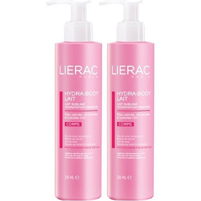 LIERAC HYDRA-BODY Lait - Lot de 2