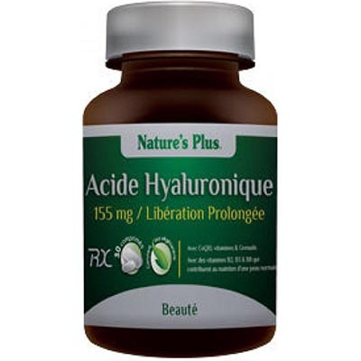 NATURE'S PLUS Acide Hyaluronique 155mg
