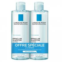 La Roche Posay Solution Micellaire Physiologique - 2x400ml