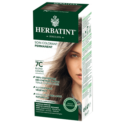 HERBATINT Coloration Blond Cendré 7C