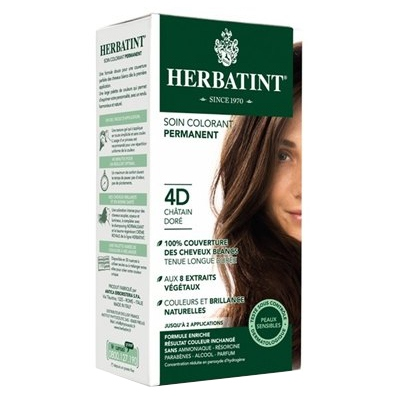 HERBATINT Coloration Chatain Doré 4D
