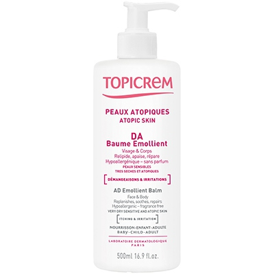 TOPICREM DA Baume Emollient - 500ml