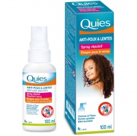 QUIES Spray Répulsif Anti-poux & Lentes