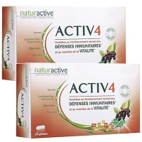 NATURACTIVE ACTIV 4 ADULTES - Lot de 2