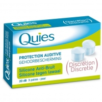 QUIES Protection Auditive Silicone Anti-bruit