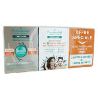 PURESSENTIEL Capillaire Fortifiant Cheveux & Ongles 3 x 60 capsules
