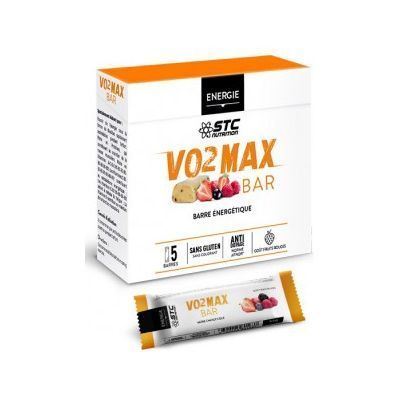 STC NUTRITION VO2 Max Bar Fruits Rouges x5