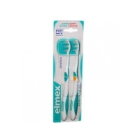 ELMEX Brosse à Dents Sensitive Souple X2