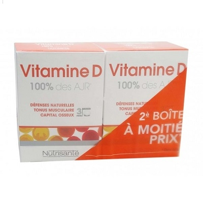 NUTRISANTE Vitamine D - Lot de 2