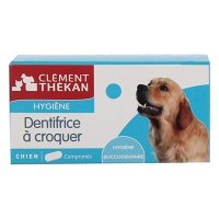 CLEMENT THEKAN Dentifrice à Croquer Chien