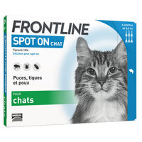 FRONTLINE Spot-on Chat - 6 pipettes