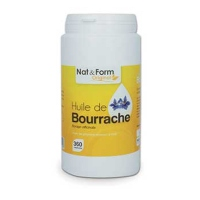 NAT & FORM Original Huile de Bourrache - 360 capsules