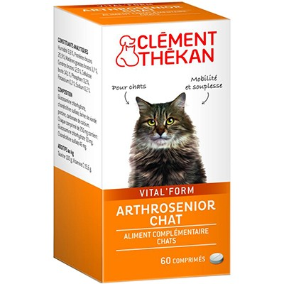 CLEMENT THEKAN Arthrosenior Chat 60 comprimés