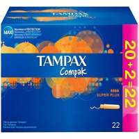 TAMPAX COMPAK Super Plus - PROMO
