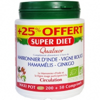 SUPER DIET Quatuor Circulation +25% OFFERT