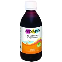 PEDIAKID 22 Vitamines et Oligo-éléments - 250ml