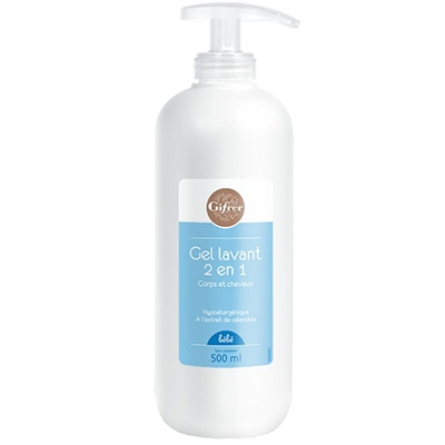 GIFRER Gel Lavant 2 en 1 - 500ml