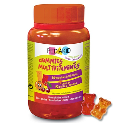 PEDIAKID Gummies Multivitaminés