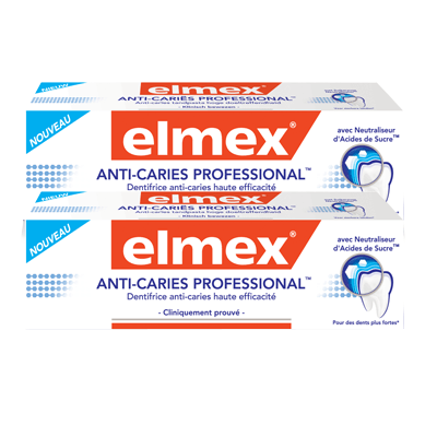 ELMEX Anti-caries Professional - Lot de 2