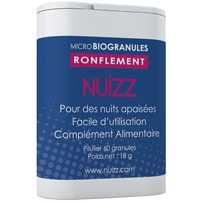 NUIZZ Ronflements 60 microbiogranules