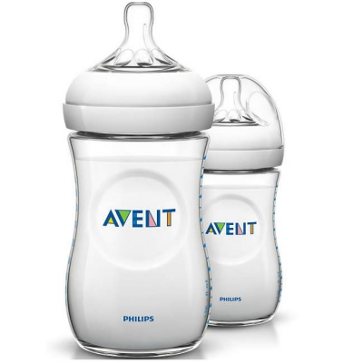 AVENT Natural Biberon 260ml x2