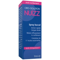 NUIZZ Anti-ronflement Spray Buccal