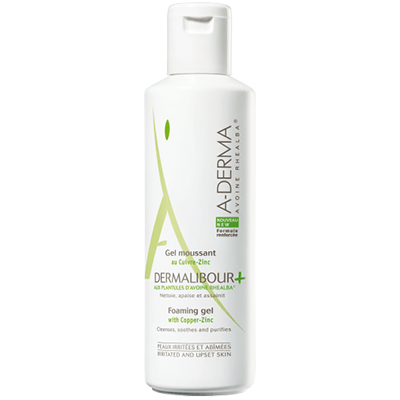 A-DERMA Dermalibour+ Gel Moussant - 250ml