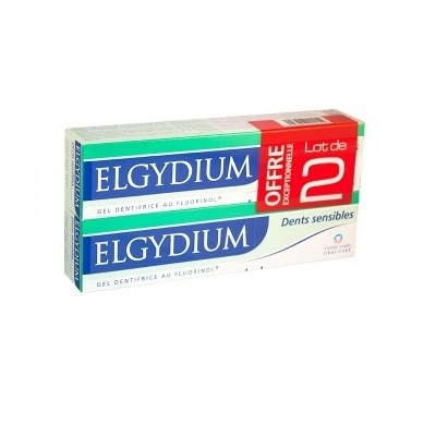 ELGYDIUM Dents Sensibles - Lot de 2