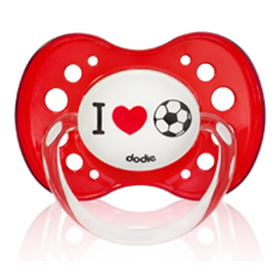 DODIE Sucette Anatomique +18mois I Love Foot