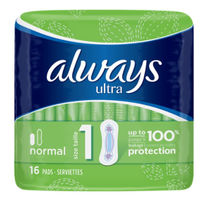 ALWAYS Ultra Normal Taille 1 - 16 serviettes hygiéniques