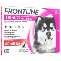 FRONTLINE Tri-act Chiens 40-60kg - 3 pipettes