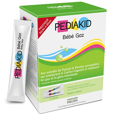 PEDIAKID Bébé Gaz - 12 sticks