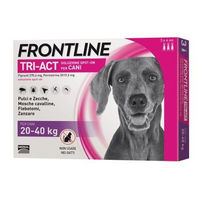 FRONTLINE Tri-act Chiens 20-40kg - 3 pipettes